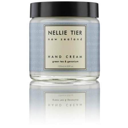 Nellie Tier Hand Cream - Green Tea & Geranium
