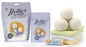 Nellies All Natural Laundry and Kitchen Cleaning Products