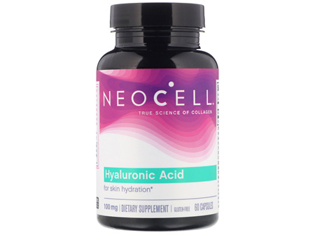 NEOCELL HYALURONIC ACID CAPS 60 exp: 9/21