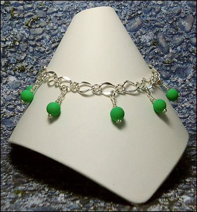 Neon Bead Anklets