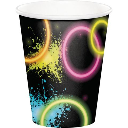 Neon Glow Party Cups