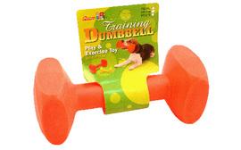 Neon Nylon Dumbell - 17.5cm