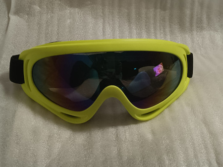 NEON YELLOW SPORTS GOGGLES - LAST ONE