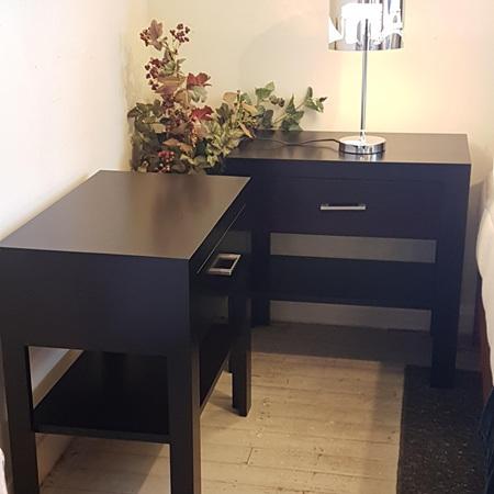 Nero Bedside Cabinet