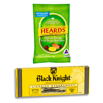 Nestle NZ's Black Knight Licorice and the Heards confectionery range