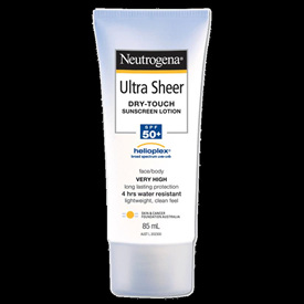 Neutrogena Ultra Sheer Body Lotion SPF50 - 85Ml