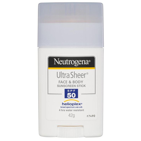 NEUTROGENA ULTRA SHEER FACE & BODY STICK SPF 50+ 42G