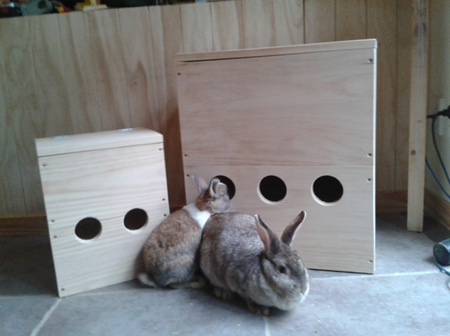 Never-ending Hay Box