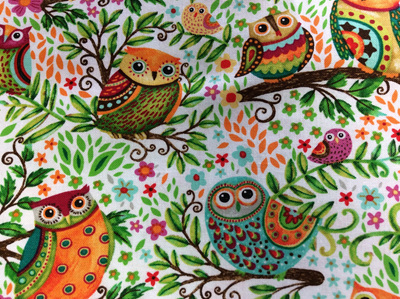 New 022 Spring awakens - owls
