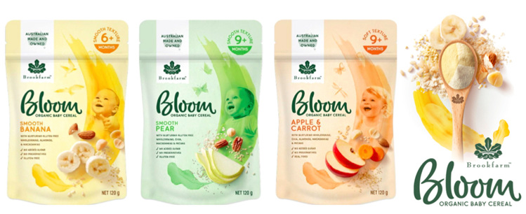 NEW! Bloom Organic Baby Cereal
