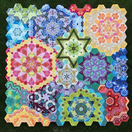 New Hexagon Millefiore Quilt-Along