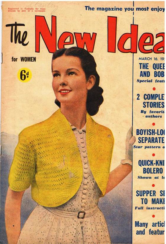 New idea magazine vintage treasure for New idea images
