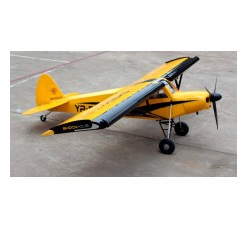 NEW July 2020 Shock Cub 38-50cc-102IN span Yellow w/wingbags by Seagull Models