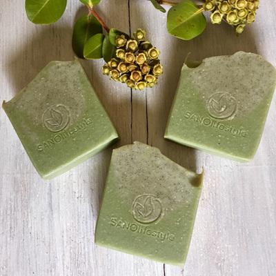 NEW minty super greens & patchouli