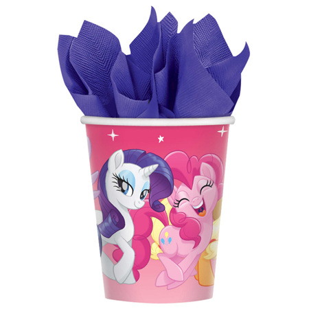 NEW - My Little Pony Cups x 8