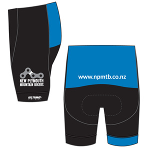 New Plymouth MTB Blue Shorts