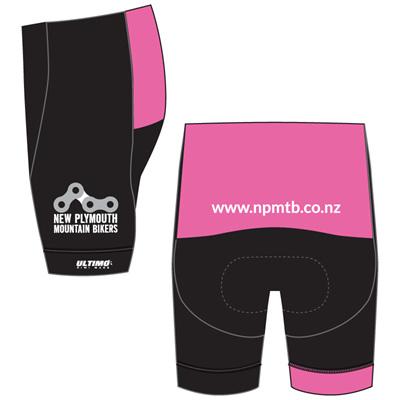 New Plymouth MTB Pink Shorts