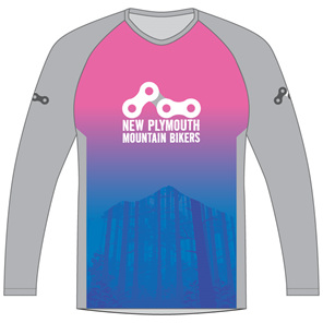 New Plymouth MTB Pink Trail Jersey