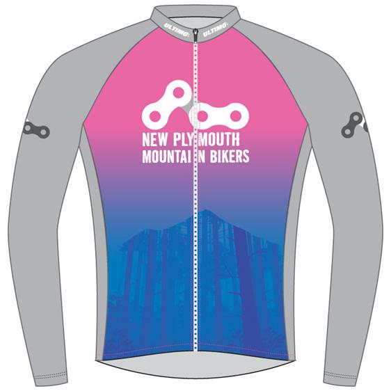 New Plymouth MTB Pink Warmup Jacket