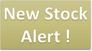 New Stock Alert