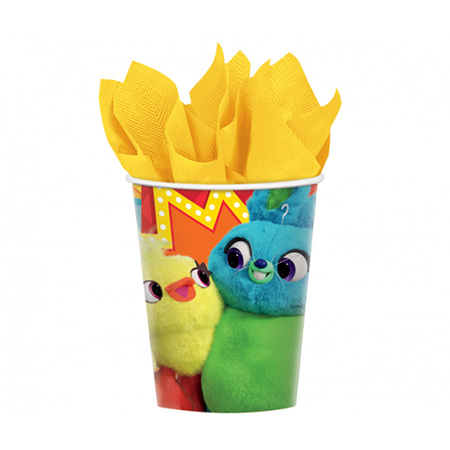 NEW - Toy Story cups x 8