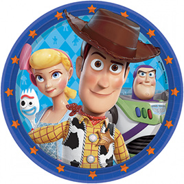 NEW - Toy Story plates x 8