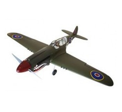 New version P-40N Warhawk Shark head 80in 33-38cc w/Electric rotating Retract and wheels by Seagull