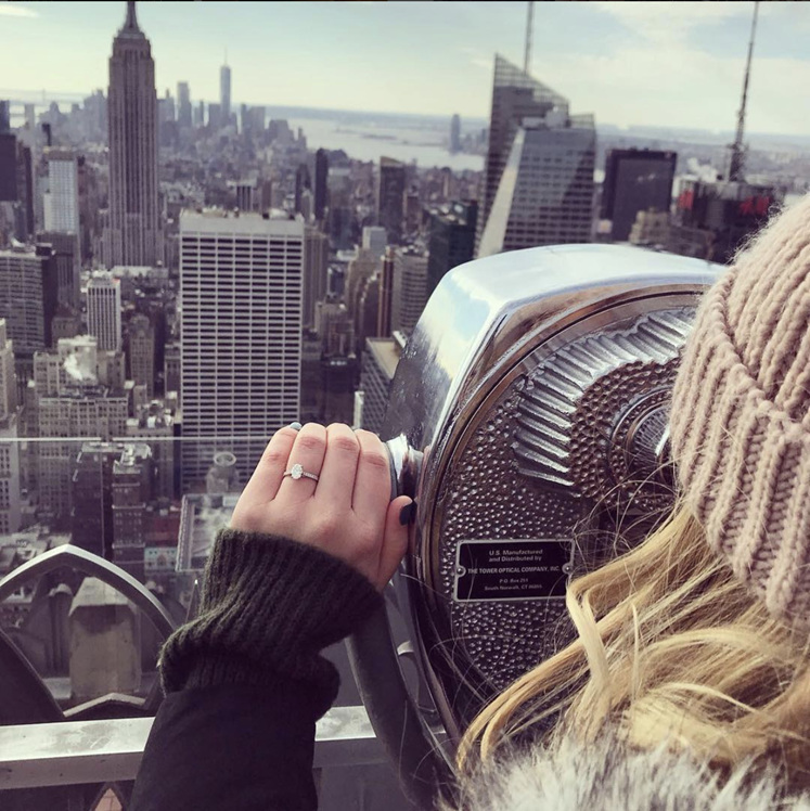 New York, Empire State Building, New York Engagement, Engaged