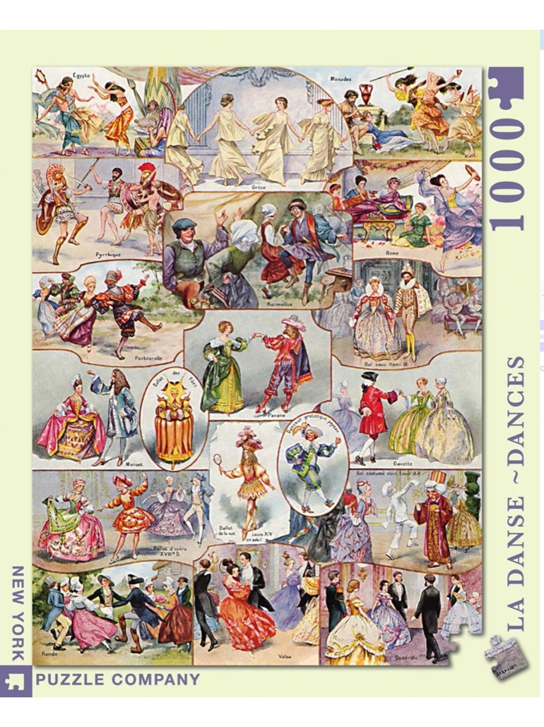 New York Puzzle 1000 pce jigsaw puzzle Dances buy at www.puzzlesnz.co.nz