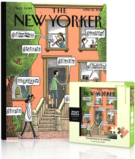 New York Puzzle Company 100 Piece Mini Jigsaw Puzzle : Soundtrack to Spring