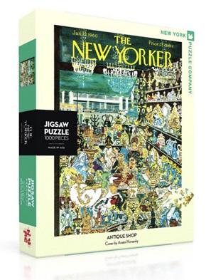 New York Puzzle Company 1000 Piece Jigsaw Puzzle :  Antique Shop