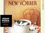 New York Puzzle Company 1000 pce puzzle Cattucinno buy at www.puzzlesnz.co.nz