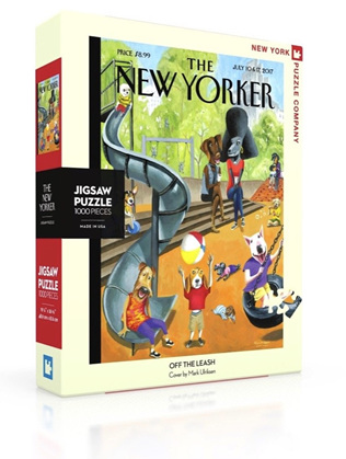 New York Puzzle Company 1000 Piece Jigsaw Puzzle :  Off The Leash