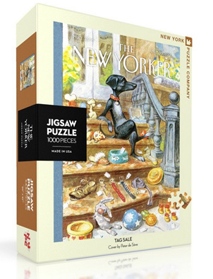 New York Puzzle Company 1000 Piece Jigsaw Puzzle :  Tag Sale
