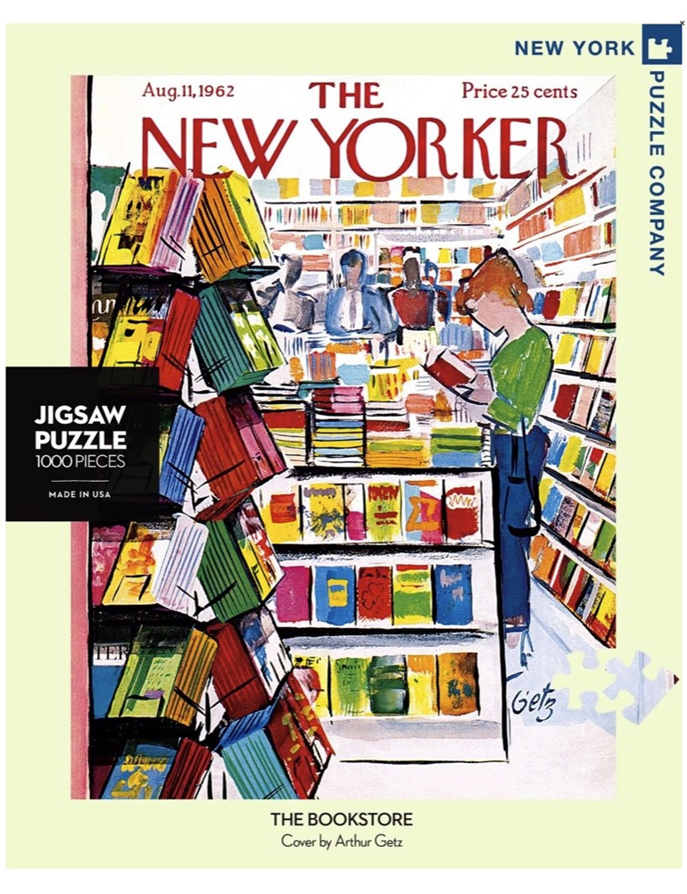 New York Puzzle Company 1000 pce puzzle The Bookstore buy at www.puzzlesnz.co.nz