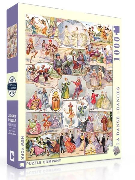 New York Puzzle Company 1000 Piece Jigsaw Puzzle: La Danse - Dances
