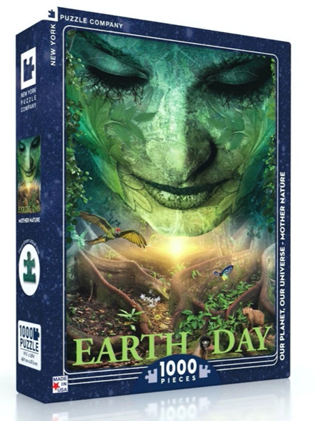 New York Puzzle Company 1000 Piece Jigsaw Puzzle: Mother Nature