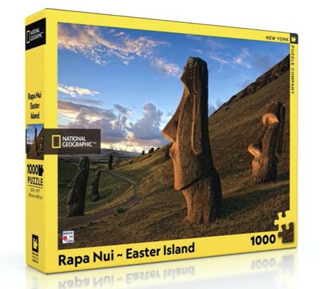 New York Puzzle Company 1000 Piece Jigsaw Puzzle: Rapa Nui - Easter Island