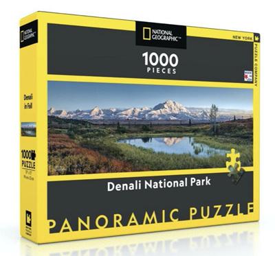 New York Puzzle Company 1000 Piece Jigsaw Puzzle: Denali National Park