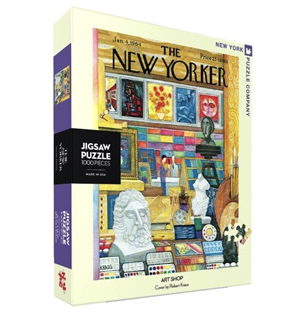 New York Puzzle Company 1000 Piece Jigsaw Puzzle : Art Shop