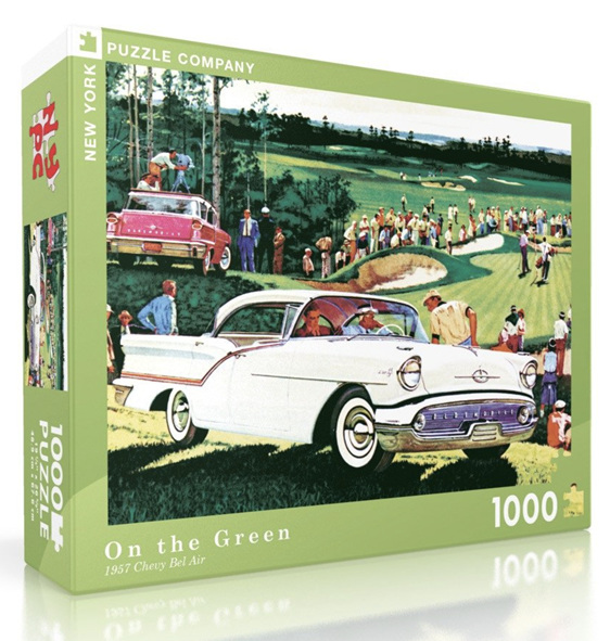 New York Puzzle Company 1000 Piece Puzzle: On The Green at www.puzzlesnz.co.nz