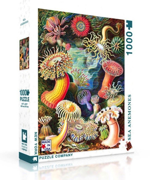 New York Puzzle Company 1000 Piece Jigsaw Puzzle: Sea Anemones