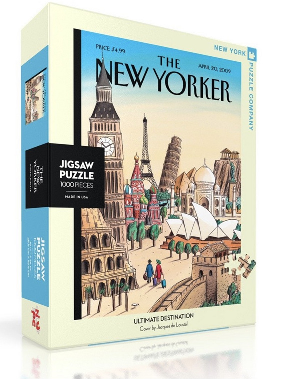 New York Puzzle Company 1000 puzzle Ultimate Destination at www.puzzlesnz.co.nz