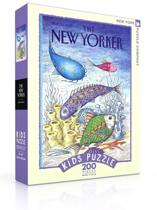 New York Puzzle Company 200 Piece Jigsaw Puzzle :  Underwater Adventure