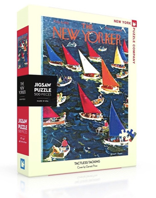 New York Puzzle Company 500 Piece Jigsaw Puzzle :  Tactless Tacking