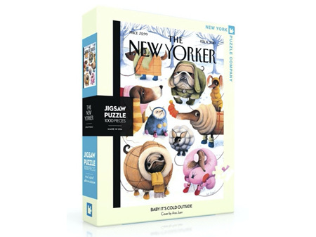 New York Puzzle Company Baby It's Cold Outside 1000 Piece Puzzle
