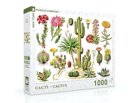 New York Puzzle Company Cacti 1000 Piece Puzzle