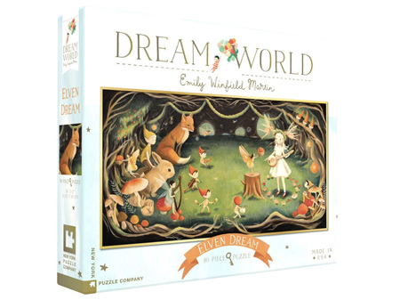 New York Puzzle Company Emily Winfield Martin Dream World Elven Dream 80 Piece Puz