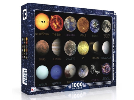 New York Puzzle Company Solar System 1000 Piece Puzzle