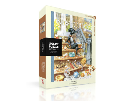 New York Puzzle Company Tag Sale 1000 Piece Puzzle
